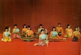 การประสมวงดนตรีไทยสมัยกรุงสุโขทัย